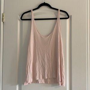 Aritzia (Wilfred) Pink Tank Top